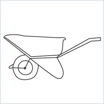 draw a Wheelbarrow