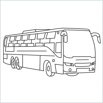 draw a simple bus
