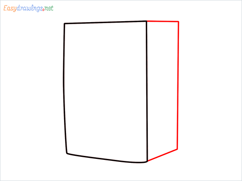 How to draw a Cooler step (2)
