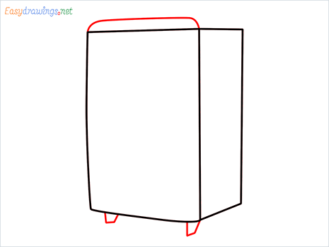 How to draw a Cooler step (3)