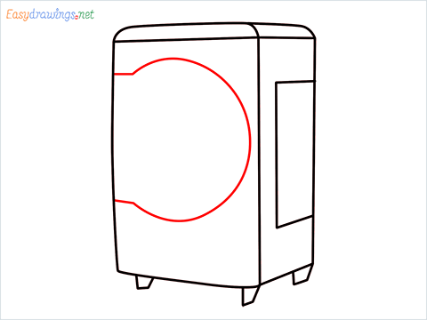 How to draw a Cooler step (5)
