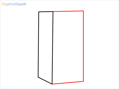 How to draw a Drawer step (2)