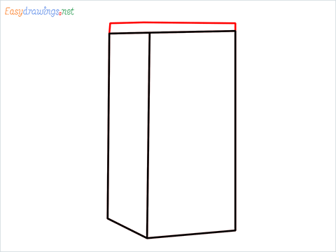 How to draw a Drawer step (3)