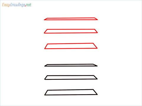 How to draw a Shelf step (2)