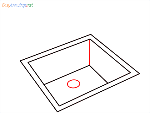 How to draw a Sink step (4)