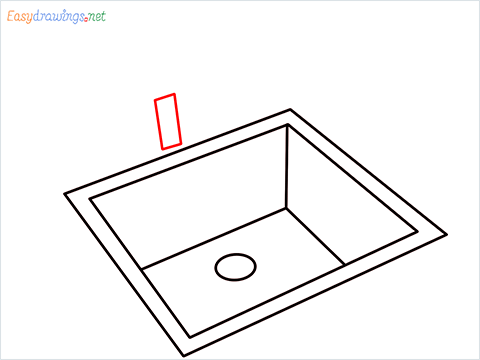 How to draw a Sink step (5)