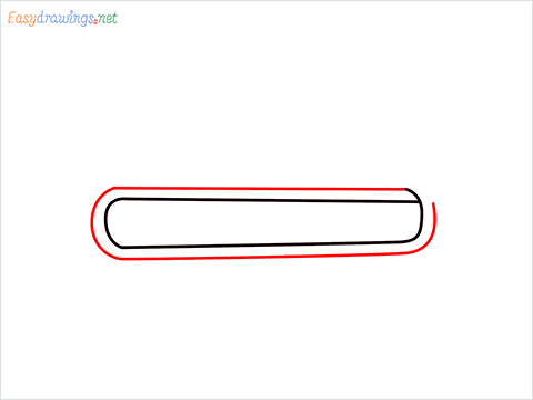 How to draw a Trumpet step (2)