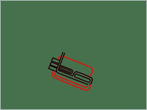 How to draw a Tuba step (5)