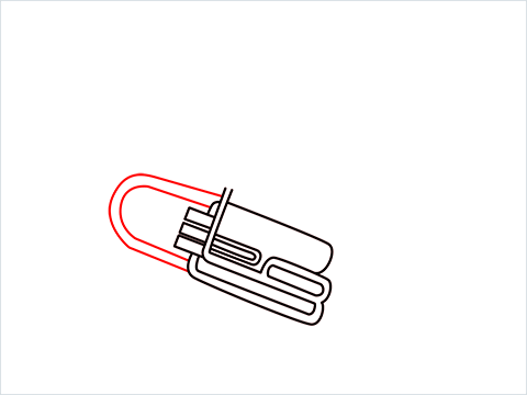 How to draw a Tuba step (6)