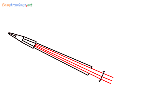 How to draw a Violin step (4)