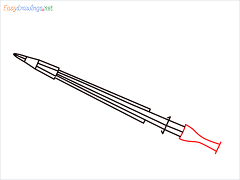 How to draw a Violin step (5)