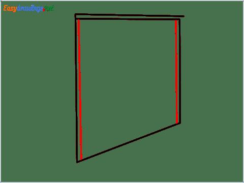 How to draw a Wardrobe step (3)