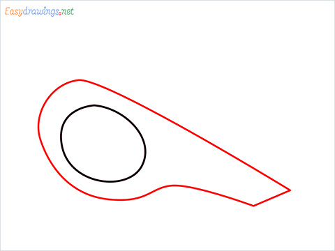 How to draw a Whistle step (2)