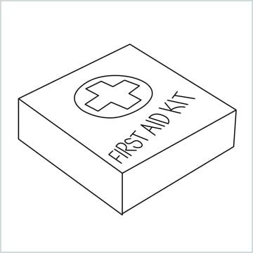 draw First aid kit