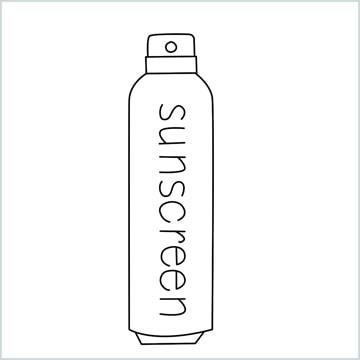 draw Sunscreen