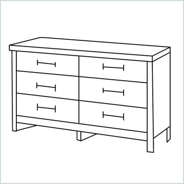 draw a Dresser
