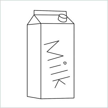 draw a Milk