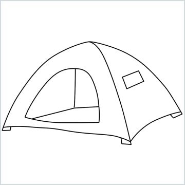 draw a Tent