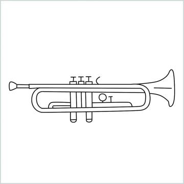 draw a Trumpet