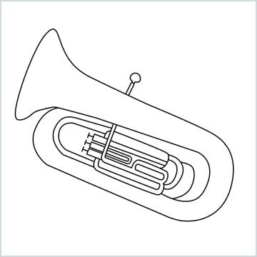 draw a Tuba