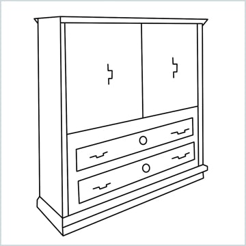 draw a Wardrobe