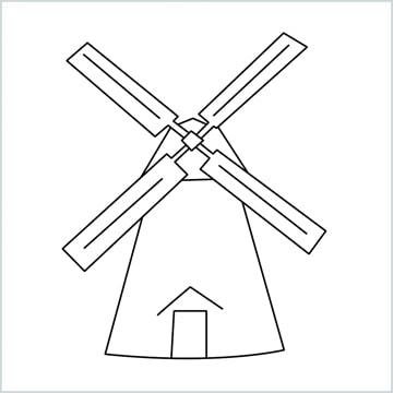 draw a windmill