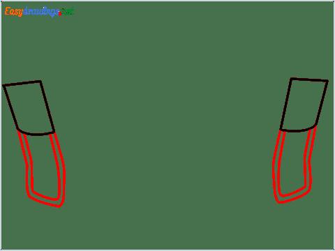 how to draw a beach chair step (2)