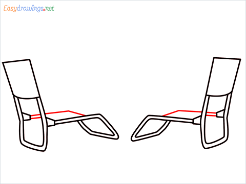 how to draw a beach chair step (5)