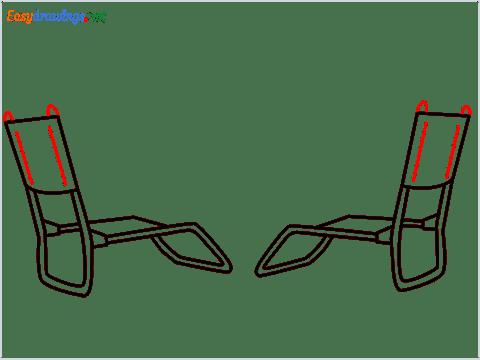 how to draw a beach chair step (6)