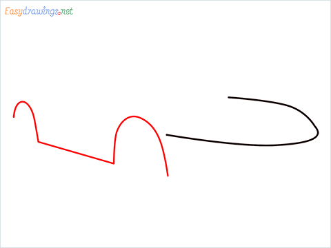 how to draw a lamborghini Asterion step (2)