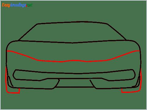 how to draw lamborghini centenario step (5)