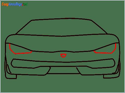 how to draw lamborghini centenario step (6)