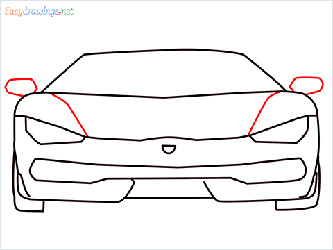 how to draw lamborghini centenario step (7)