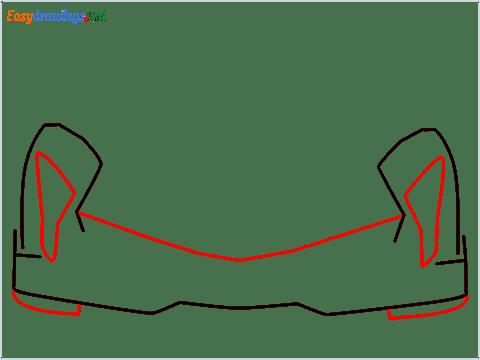 how to draw lamborghini veneno step (3)