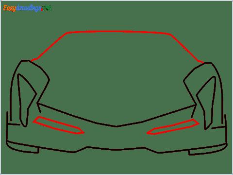 how to draw lamborghini veneno step (4)