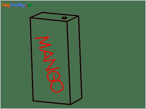 how to draw mango juice step (5)