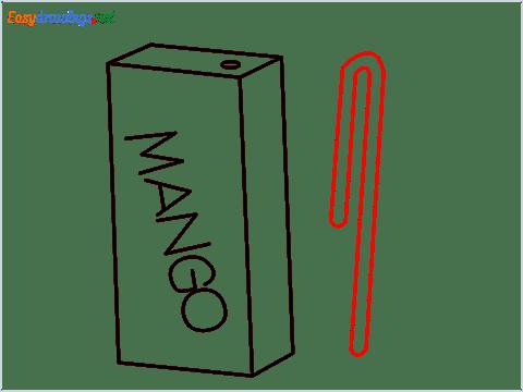 how to draw mango juice step (6)
