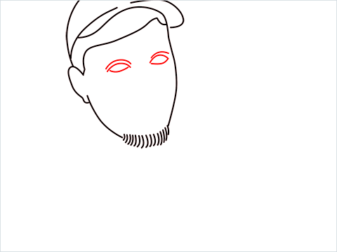 how to draw mrbeast step (6)
