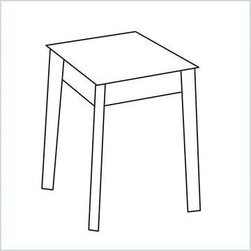 draw a stool