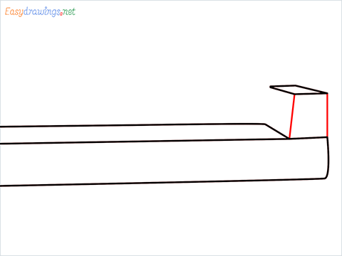 how to draw a couch Step (3)