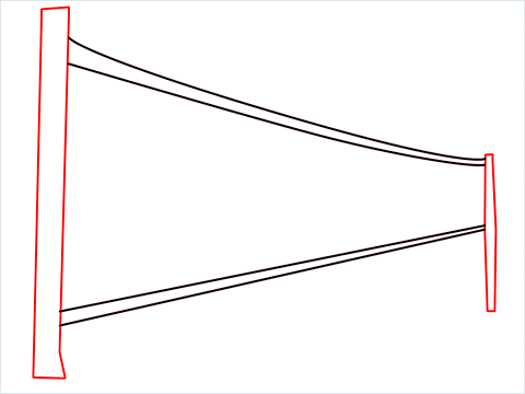 how to draw a volleyball net Step (3)